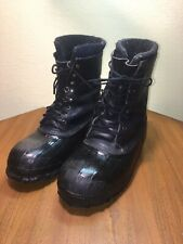 LACROSSE ICEMAN DUCK PAC BOOT EXTREME COLD INSULATED LEATHER WATERPROOF MENS 12