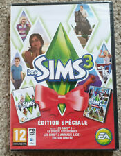 PC The Sims 3 Edition Speciale - inc Pets New Sealed French Version English Game