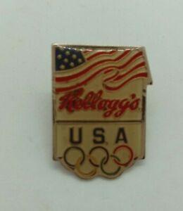 Kellogg's USA Olympic enamel pin