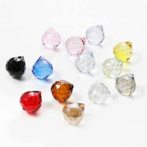 10pcs 20mm crystal ball ornament Hanging Pendant  lamp accessories Chandelier