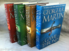 Game of Thrones Song of Ice and Fire Hardcover Set of Four - George R.R. Martin
