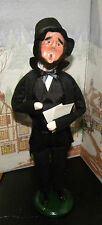 BYERS CHOICE CAROLER 16th President Abraham Abe Lincoln   *