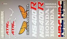 HONDA NS400R HRC RESTORATION DECAL SET