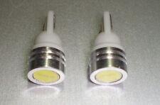 ►2X ULTRA BRIGHT STANDLICHTER PARKING LIGHT LED 1W POWER LED T10 BAX9SW5W ORANGE