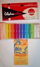 Vintage Alphacolor Pastels Weber Costello