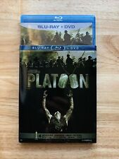 Platoon (Blu-ray, Dvd, 2011, 2-Disc) With Slipcover