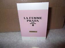 Women's Prada Milano La Femme L'Eau  Eau De Toilette Sample 1x1.5 ml New Release