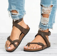 New Birkenstock Mayari Sandals Shoes Women Brown Cork Size Birko Flor Sole Full