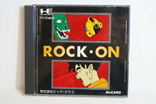 ROCK ON PC Engine PCE Hu Card HuCard HU-CARD NEC Japan Import US Seller