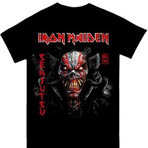 Iron Maiden - Senjutsu Vertical Logo Official Licensed T-Shirt
