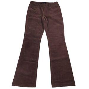 Talbots Corduroy Pants Curvy Size 6 Dark Brown Bootcut Casual Jeans