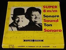 *** FILM SUPER 8 NB SONORE/75 METRES - LAUREL ET HARDY A LA LEGION ***