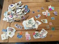Large Collection of Used Stamps from Across the World - Too Many Countries - G25