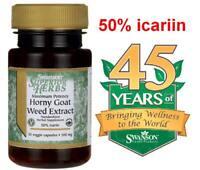 Swanson Maximum Potency Horny Goat Weed Extract **50% icariin!!!!!!!**