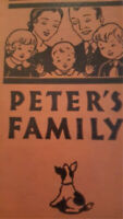 Peter's Family: Everyday Life Stories Primer 1935 by Paul R. Hanna