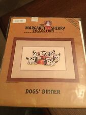 Margaret Sherry Cross Stitch Chart, Dogs' Dinner