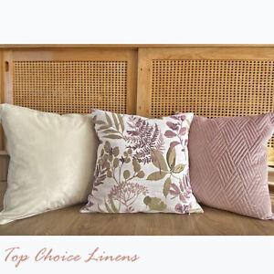 Home Mix & Match Home Decor Sofa Pillow Pink/Cream/OliveGreen Cushion Cover 45S