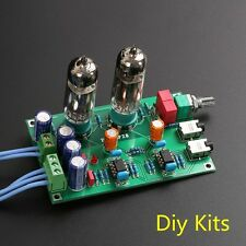 DIY KIT Class A 6J5 Vacuum Tube Preamp Preamplifier HIFI Headphone Amplifier
