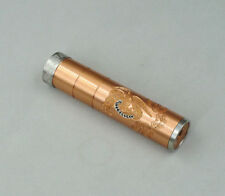 Emma Copper Mechanical Mech Mod 18650 Battery Body Mod Handcrafted Clay US Ship