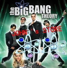 Silvertone The Big Bang Theory Atom Dangle Earrings W/Gift Box USA Seller