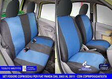 COPRISEDILE COPRISEDILI FODERA AUTO PINK BLOSSON PER FIAT PANDA 2010..
