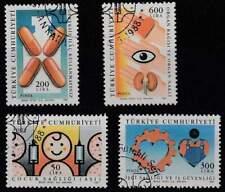 Turkije gestempeld 1988 used 2810-2813 - Gezondheid (3)