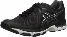 ASICS Womens Gel-Netburner Ballistic Volleyball Shoe, Black/White, 6.5 B(M) US