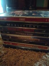 Steel book 8 Case Lot Collection Scarface Oblivion Pitch Black