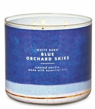 Bath & Body Works Blue Orchard Skies Wick Scented Candle 14.5 oz