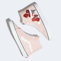 Vans x Disney Sk8-Hi Mickey & Minnie Pink Shoes Sneakers - VN0A38GEUPN1
