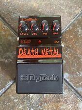 DigiTech DEATH METAL Electric Guitar Distortion Pedal
