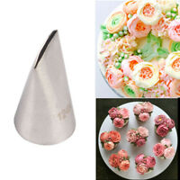#124K Rose Flower Icing Piping Nozzle Pastry Tip Cake Decorating Tool UK Stock!!