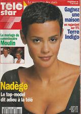 Tele Star N° 1035 Du 29/07/1996 - Le Mariage Du Commissaire Moulin - Nadege