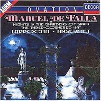 ALICIA/ANSERMET,ERNEST/OSR DE LARROCHA - NIGHTS IN THE GARDENS OF SPAIN  CD NEW