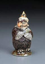 BURSLEM POTTERY GROTESQUE BIRD QUEEN VICTORIA INSPIRED BY MARTIN BROTHERS