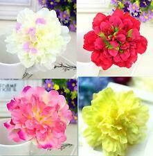 flor del pelo pasador flores adorno para Cabello Boda Party Tocado