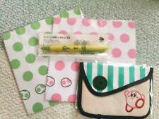 Club Nintendo Kirby Snap Pouch Original Mini bag pen set Limited Japan F/S