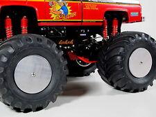 4pcs Aluminum Wheel Tire Rim Cap Cover Plate Tamiya RC 1/10 Clodbuster Bullhead