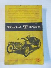 Model T Ford in Speed and Sport book by Dan R. Post 1956
