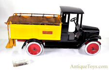 Original ca. 1920's Buddy L Pressed Steel Ice Delivery Truck