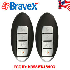 2 Newest Key 2009-2013 for NISSAN MAXIMA Keyless Entry Remote Car Key Fob IN US