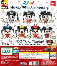 Bandai ColleChara! Disney Mickey 90th Anniversary Gashapon Set of 7pcs