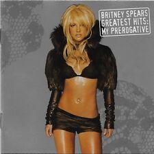 Greatest Hits: My Prerogative by Britney Spears CD Nov-2004 Jive USA