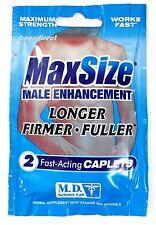 MaxSize Penis Erection Enhancement max Size 24 Pks Of 2