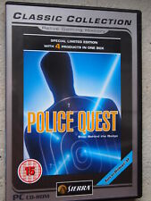 POLICE QUEST COLLECTION sierra | PC CD Ed. UK
