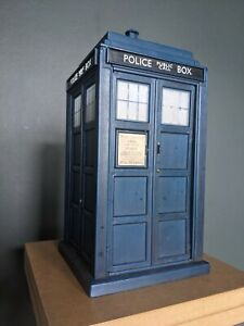 10th Doctor Who TARDIS Flight Control Light and Sounds Police Box Faulty Toy