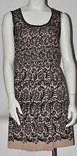 Rodarte for Target Dress  Black and Nude Illusion Lace Dress NWOT Sz S