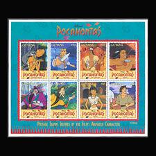 Guyana, Sc #2950, MNH, 1995, Disney, Pocahontas, S/S, K87F