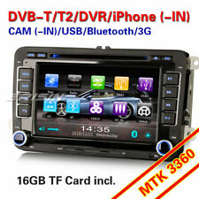 Autoradio GPS DVB-T2 Navi OPS DVD 3G Für VW Golf Passat Touran Jetta Polo Tiguan