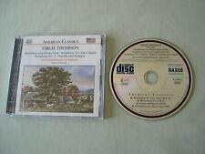 VIRGIL THOMSON Symphonies Nos. 2 & 3/Symphony on a Hymn Tune Sedares CD album